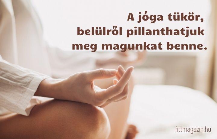 jóga idézet, jóga tükör
