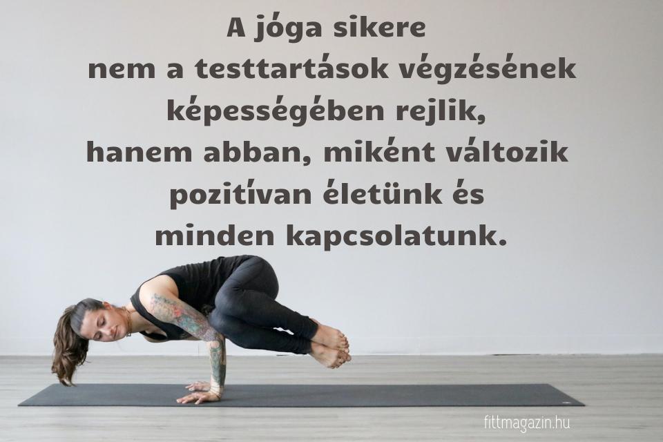 jóga idézet, jóga sikere